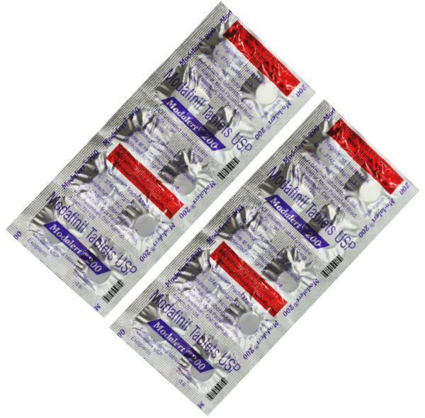 Modvigil pills in blister pack
