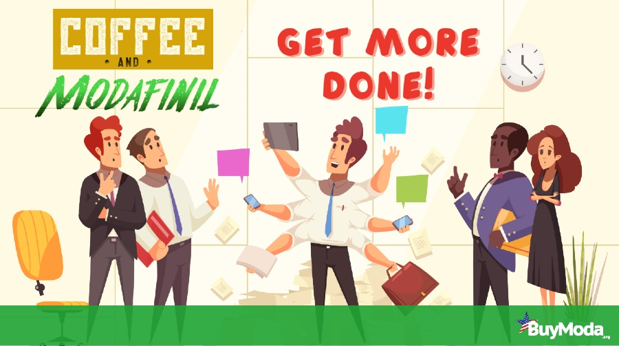 Get More Done with Coffee and Modafinil | Buymoda Nootropics Guide