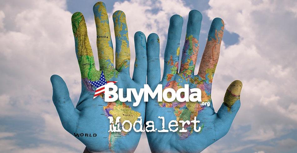 Buymoda Modalert | World map painted on two palms