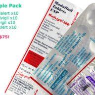 Modafinil sample pack armodafinil