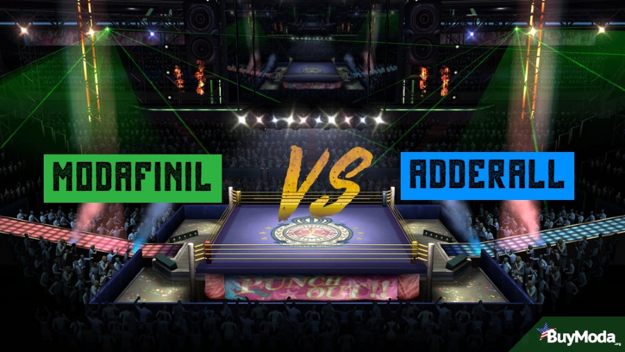 The Big Fight | Modafinil vs Adderall | Boxing Ring Aerial View