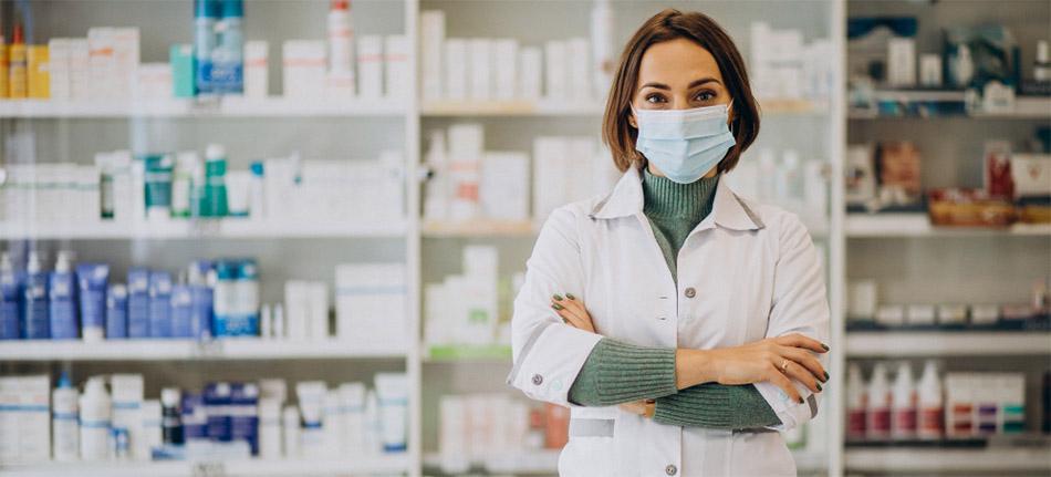 Pharmacist with background of medical stock | Modafinil Online Pharmacy